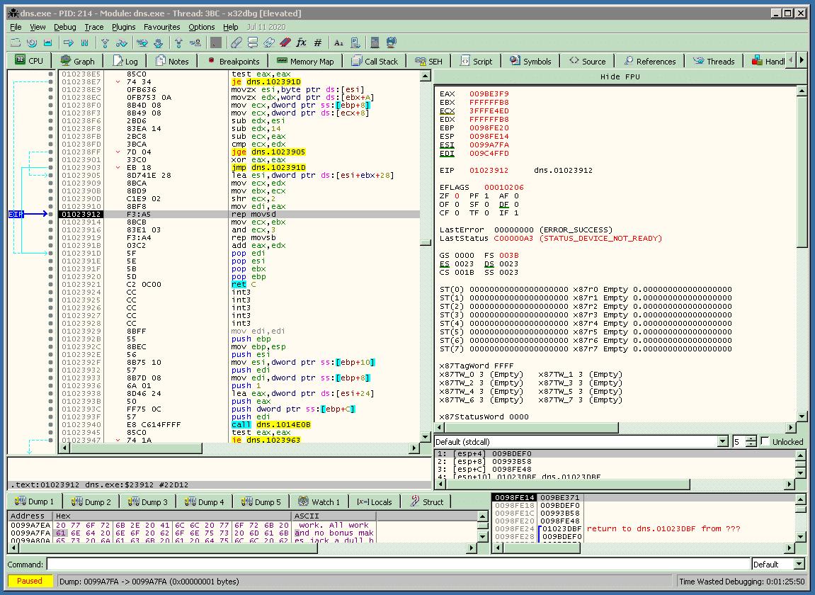 rootshell security windows DNS vulnerability exploit