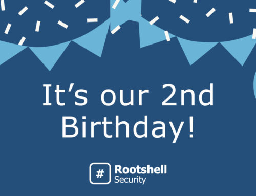 Rootshell Security Turns 2 Years Old Today
